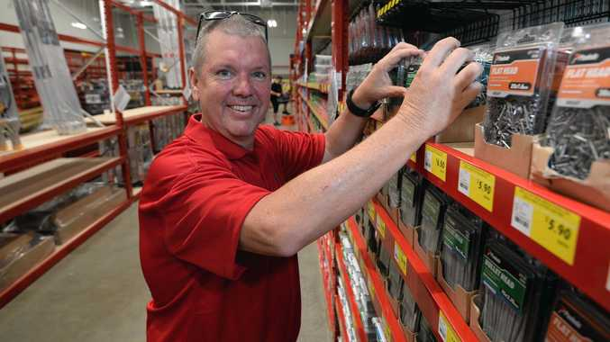 Bunnings Complex Manager Glen Reid at the new store.
