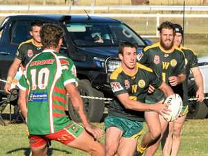 Southern Downs club players in All Stars and Emus
