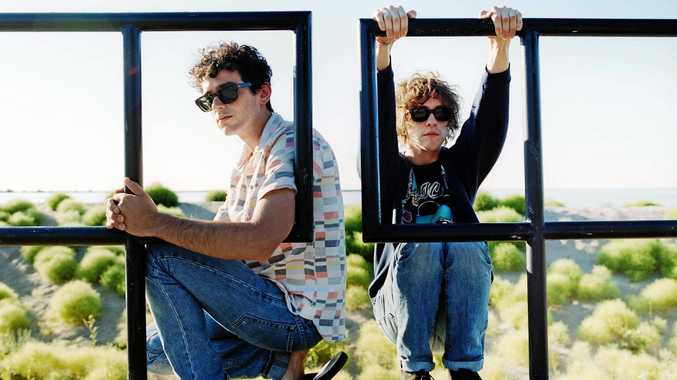 TOURING: MGMT played at The Falls Music & Arts Festival in 2014.