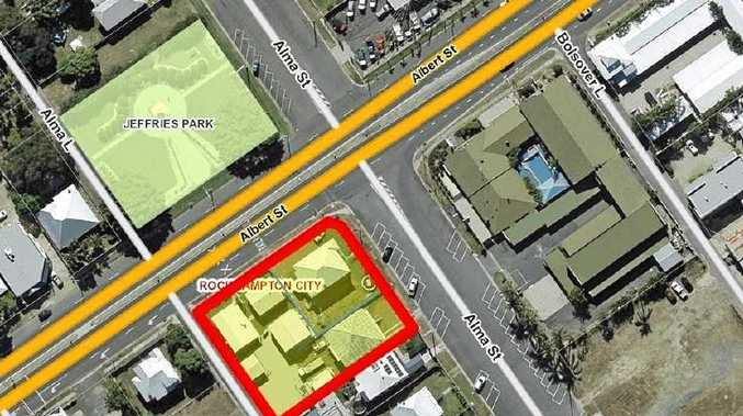GREEN LIGHT: The location for a proposed service station in South Rockhampton.
