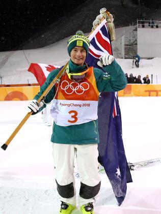 Silver medalist Matt Graham of Australia.