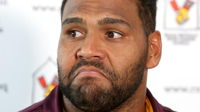 Sam Thaiday says it's time for the Broncos to deliver. (AAP Image/Steve Pohlner)