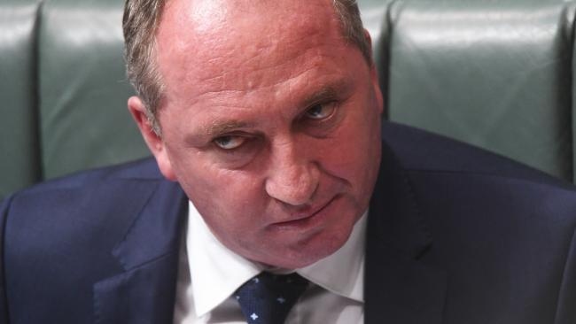 Australian Deputy Prime Minister Barnaby Joyce. Picture: AAP