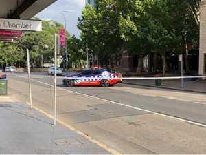 'Suspicious item' locks down Sydney business district