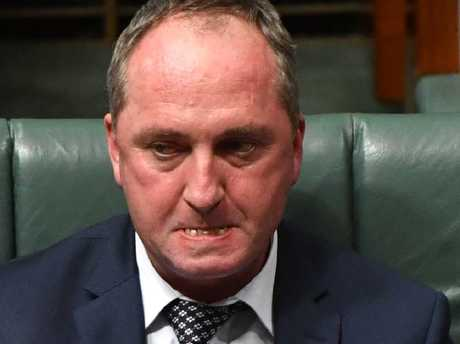 Deputy Prime Minister Barnaby Joyce has been under fire since the scandal broke. Picture: AAP/Mick Tsikas