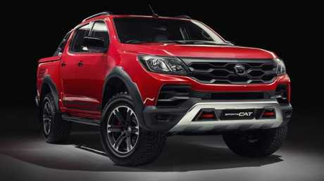 HSV has begun assembly of the Colorado ahead of an April showroom debut. Picture: Supplied.