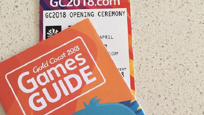 The tickets were printed with the wrong day. Mark Peters comments on Commonwealth Games tickets misprint