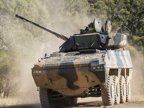 BAE Systems Australia Patria AMV35 are undergoing testing and evaluation as part of a 12-month risk mitigation activity to assist Defence in picking which system is more suited to their needs.