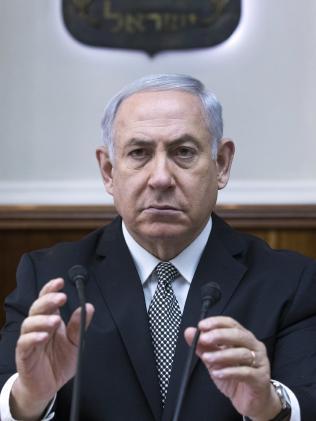 Israeli Prime Minister Benjamin Netanyahu. Picture: Jim Hollander/AP