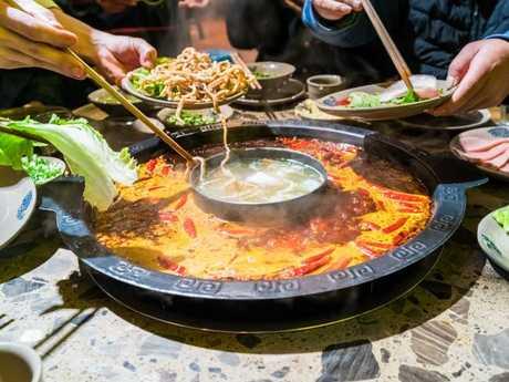Chengdu hot pot. Picture: iStock.