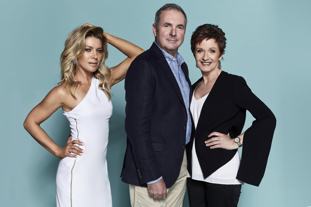 Natalie Bassingthwaighte, Alan Fletcher and Jackie Woodburne reunited in a movie-length special episode of the TV series Neighbours this week.