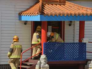 Fat fire in chimney identified as cause of restaurant smoke