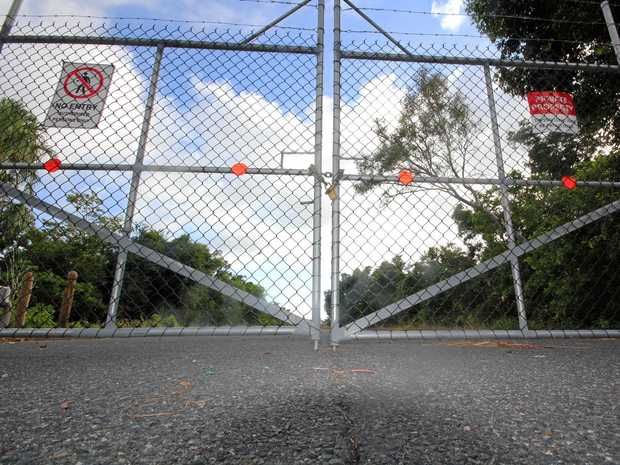 The road to the Laguna Quays marina and boat ramp has been closed to the public since Cyclone Debbie hit the Whitsundays in March 2017.