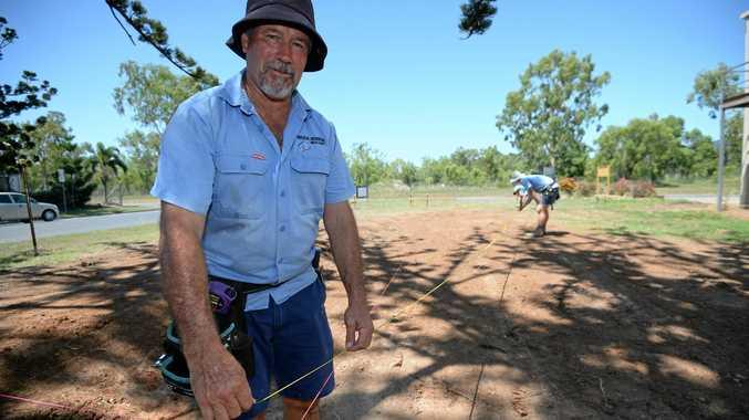 Builder Bruce Robson.