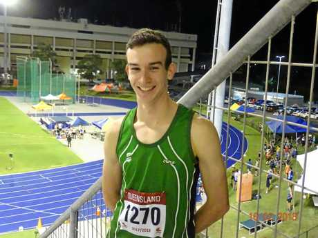 Ipswich club middle distance runner Alexander Gough.