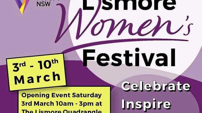 Lismore Women's Festival 2018 poster