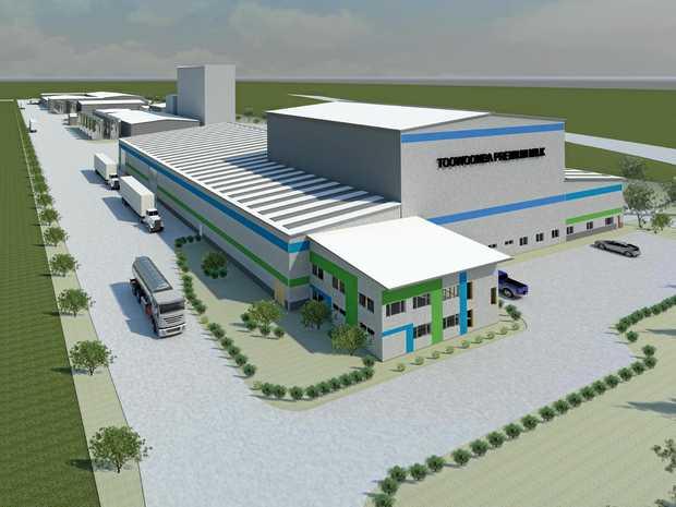 WINNING FORMULA: The Toowoomba Premium Milk factory adjacent to the Toowoomba Wellcamp Airport.