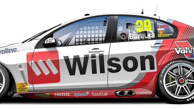 The car Bundaberg's Mason Barbera will be racing in this year's Super 2 Series.