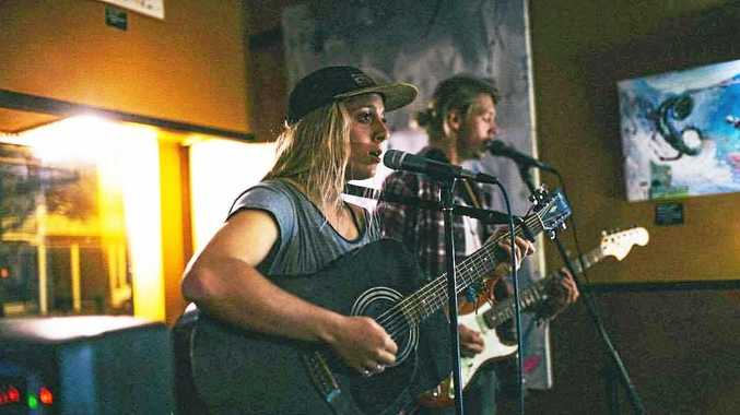 Clarence duo Anna and Jed will play both ends of the Valley this weekend. Catch them tonight at Yamba's Pacific Hotel and Grafton's Clocktower Hotel on Friday night.