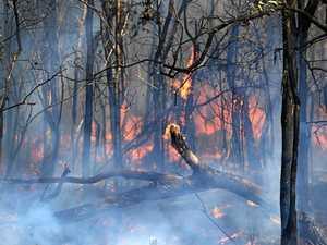 CQ Bruce Hwy driver alert: Bushfire creates smoke hazard