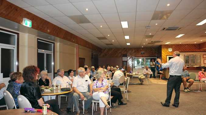 PLANNING AHEAD: Western Downs mayor Paul McVeigh addresses attendees at the Tara Year Ahead Gathering.
