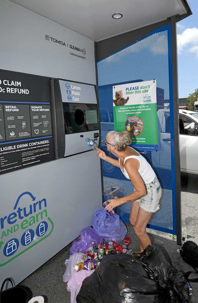 'Return and Earn' recycling station's have been popular.