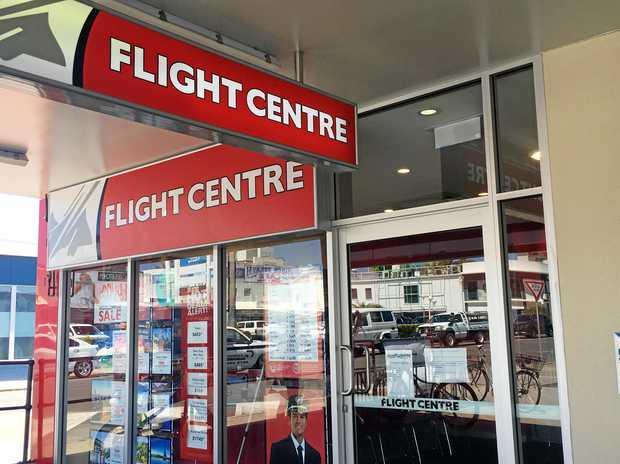 Flight Centre Gladstone Square will close down on February 19.