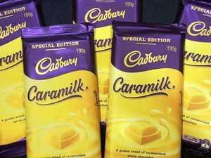 Cadbury recall popular Caramilk chocolate