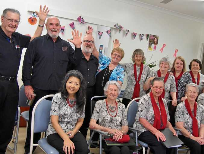 JOIN IN: The lively Coffs City Choir are welcoming new members.