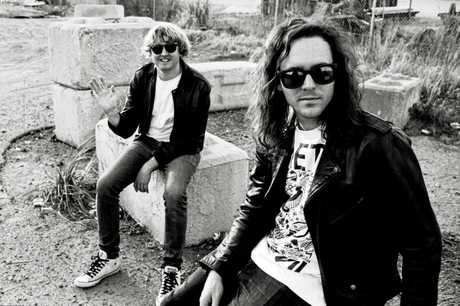 TOP OF CHARTS: Shane Parsons and Simon Ridley of DZ Deathrays.