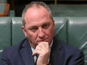 TRUSS GIVES SUPPORT: Barnaby Joyce has a breathing space, thanks to Wide Bay electorate.