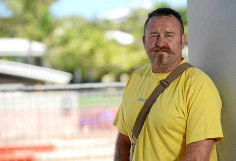 Shane has warned people that accidents can happen to anyone. Photo Allan Reinikka / The Morning Bulletin