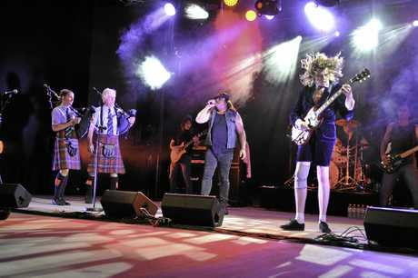 ROCK ON: The show will be played at the Heritage Theatre in Gympie's Civic Centre.