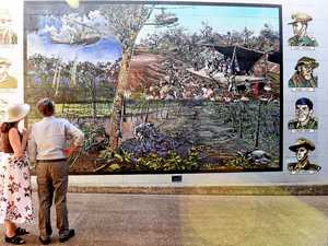 Maryborough's 'Tubby' Clayton brought to life in mural