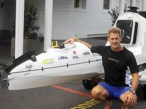 Kayaker seeks to become the first to paddle the ditch