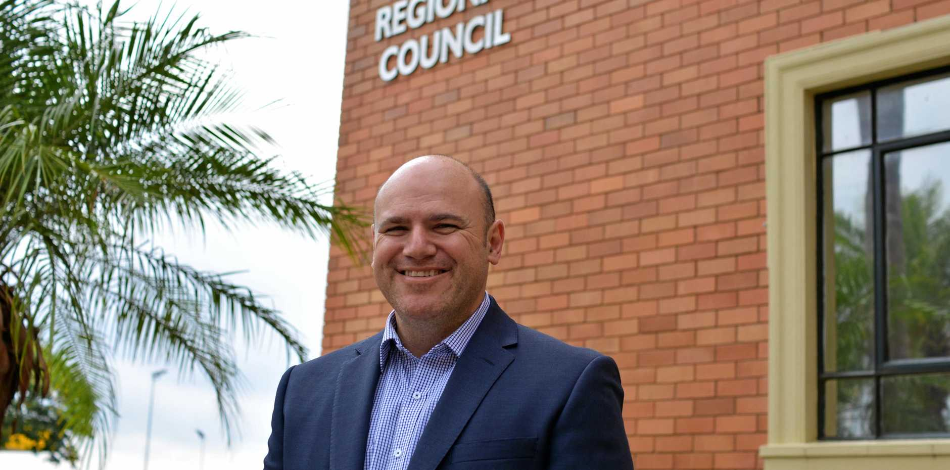 IT'S OFFICIAL: Laidley's Rick Vela takes out the Lockyer Valley Regional Council by-election.