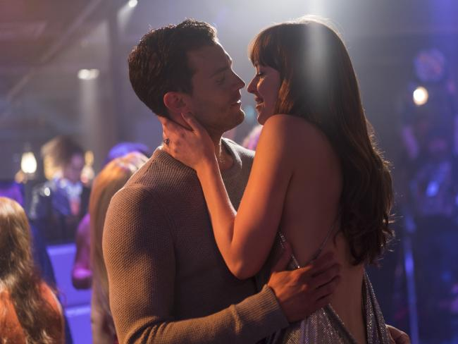 Being a sugar daddy wasn't always like a scene from the Fifty Shades films. Picture: Universal Pictures.