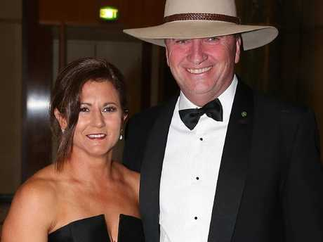 Barnaby Joyce and his wife Natalie have split after 24 years. Picture: Ray Strange