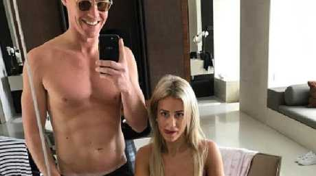 Roxy Jacenko and Oliver Curtis say life is better than it was before he went to jail. Picture: Instagram