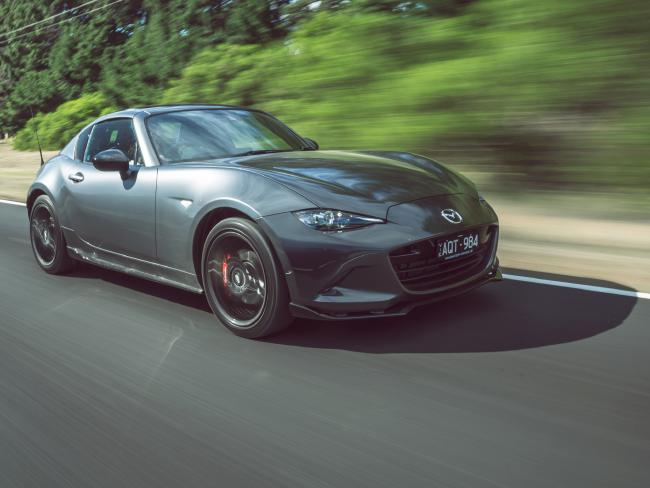 There are only 110 examples of the MX-5 RF Limited Edition in Australia.