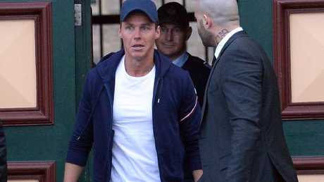 Oliver Curtis knew of the photo before he was released from Cooma Correctional Centre. Picture: Jeremy Piper.