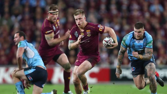 Rugby league fans from southern states should be coming here to watch State of Origin, not the other way around. Picture: Chris Hyde/Getty Images