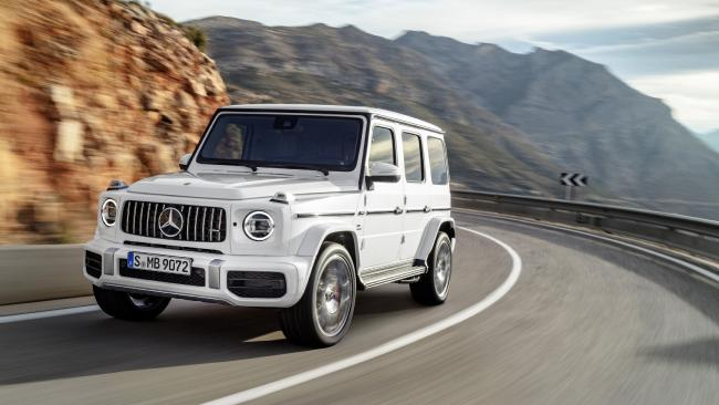 The 2018 Mercedes-Benz G63 AMG has landed. Yes, it's the new one. Picture: Supplied.