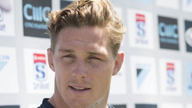 Waratahs captain Michael Hooper at Brookvale Oval on Wednesday.