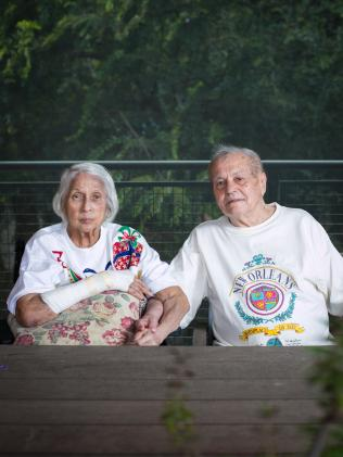 Barbara and Desmond Vantwest have been married 66 years.