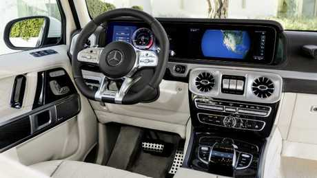 The interior of the new model is a world away from the original military vehicle. Picture: Supplied.