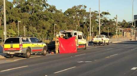 Tram incident.