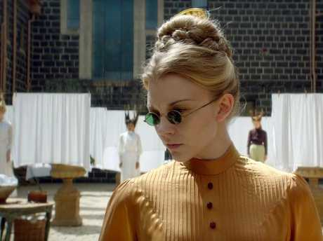 Natalie Dormer in a scene from Picnic at Hanging Rock, to screen on Foxtel in May. Picture: Supplied