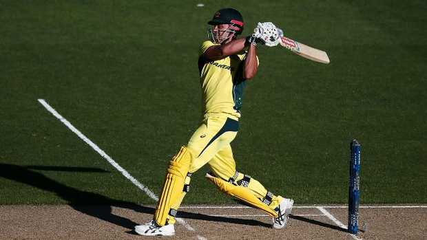 Marcus Stoinis smashed a brutal century on his last Eden Park appearance.