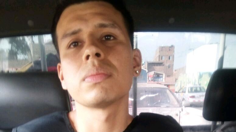 Alexander Jheferson Delgado Herrera drugged his brother and left him in his prison cell after a visit in January 2017.  He was recaptured this week. Photo: Peruvian Interior Ministry.